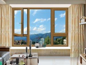 方麒门窗-FPMC70铝木复合平开门窗-35