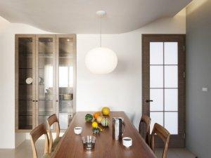 简约风格厨房玻璃门效果图 室内玻璃门图片