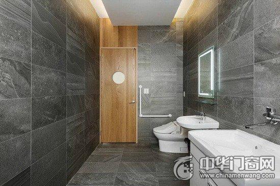 日式风格原木入户门装修效果图 隽雅和风