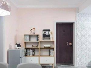 北欧风格玄关木门效果图,入户门图片