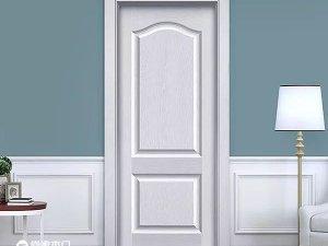 尚家白色木门装修效果图