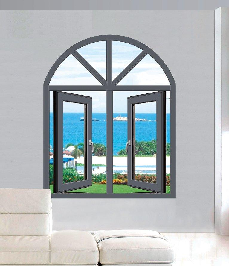 帝凯龙门窗-断桥平开窗产品展示