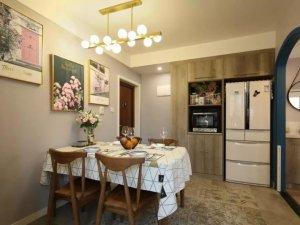 农村客厅铝合金门图片大全 田园风两居室实木门板图片
