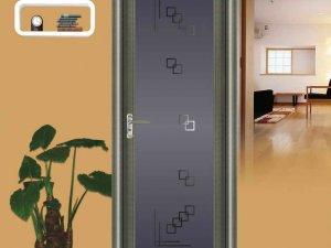 亮阁全铝合金平开门R100二代图片展示