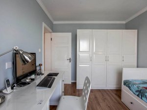 美式欧式实木门图片大全 现代室内套装防盗门图片