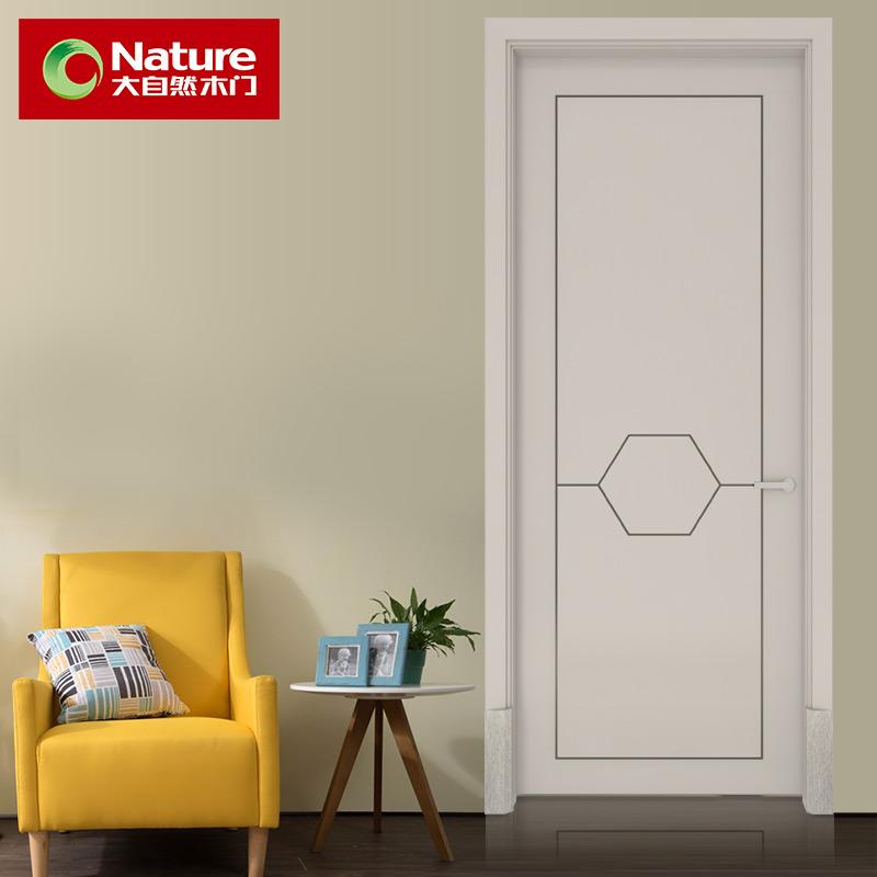 大自然木门 P702 实木复合室内门 卧室门房门全屋定制