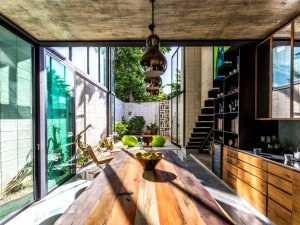 墨西哥现代铝合金门图片大全 铝合金玻璃推拉门图片