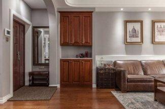 室内套装钢木门图片 130平米美式钢木门图片