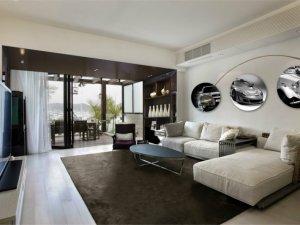 580平别墅断桥铝阳光房图片 玻璃铝合金折叠门图片
