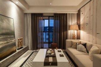 新中式黑色铝合金窗外观图片 次卧床边断桥推拉窗图片