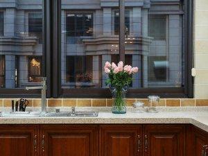 时尚推拉式铝合金窗图片 厨房全铝合金门图片