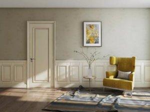 TATA木门白色室内门图片展示