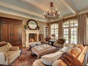 时尚铝木复合门窗图片 美式白色铝合金门窗图片