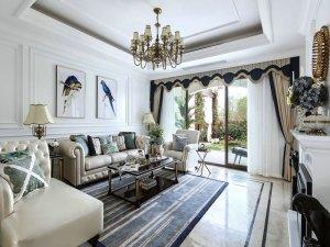 欧式香槟色铝合金门窗图片 别墅推拉铝合金门入户门图片