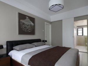 简约白色木门效果图大全 卧室实木门图片
