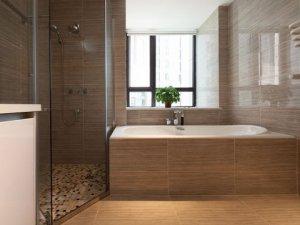 浴室推拉式铝合金窗图片 大气别墅铝合金门窗图片