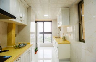 厨房断桥推拉窗图片 灰色铝合金门窗颜色图片
