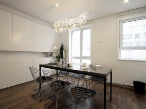 餐厅型铝合金门窗图片 普通室内铝合金门窗图片