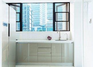 时尚断桥推拉窗图片 厨房铝合金门窗设计图片