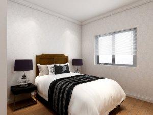 简欧式铝合金门窗设计图片 银白色铝合金门窗图片