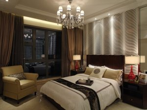 黑色断桥铝门窗图片 卧室家用铝合金门窗图片