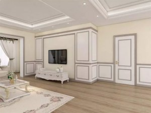 美心门业12个电视背景墙效果图展示