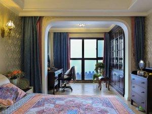 落地黑色铝合金窗外观图片 美式家用铝合金门窗图片