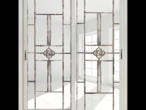 欧迪克门窗灰色门的铝合金门图片