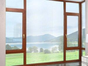 皇派门窗隔热断桥铝合金门的图片 牛津岁月