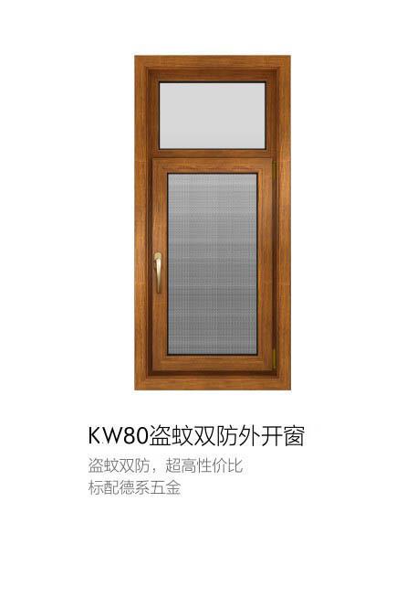 良木道门窗kw80产品展示