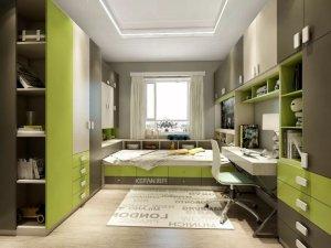 欧式推拉式铝合金窗图片 把色彩搬进儿童房