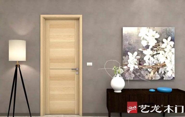 艺龙木门图片 入户门装修效果图