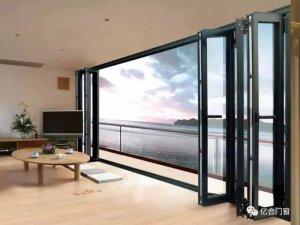 亿合门窗图片 折叠门效果图