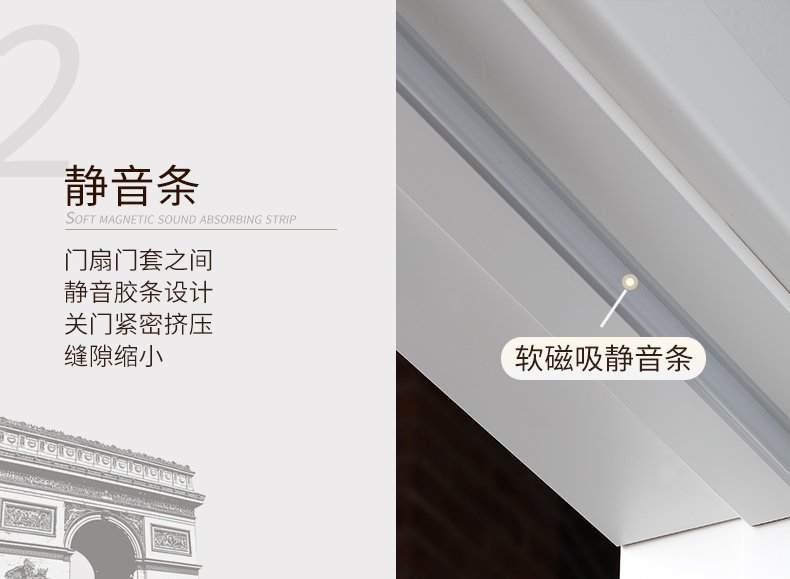 TATA木门 简约欧式室内静音门效果图