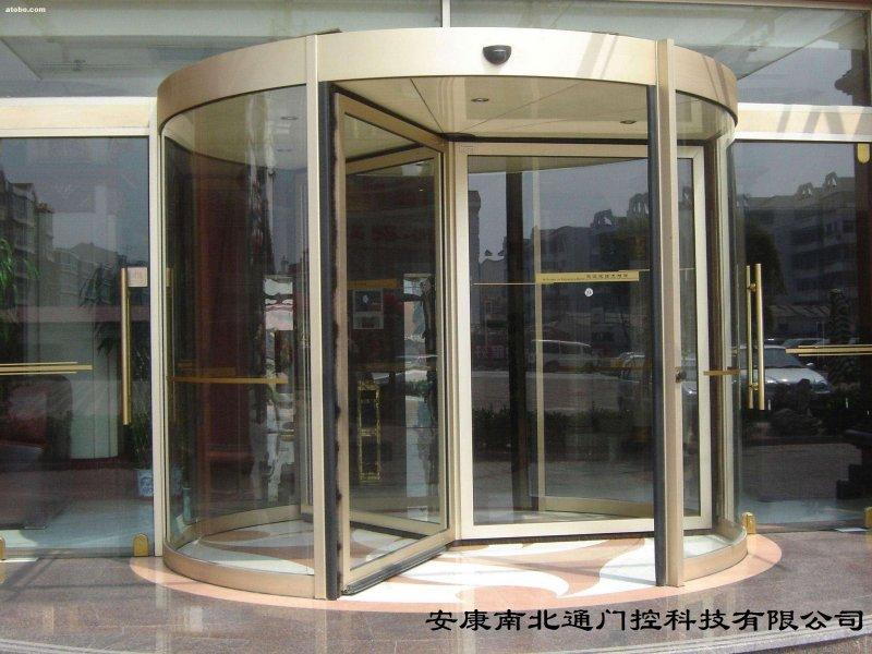 四川广安酒店旋转门图片