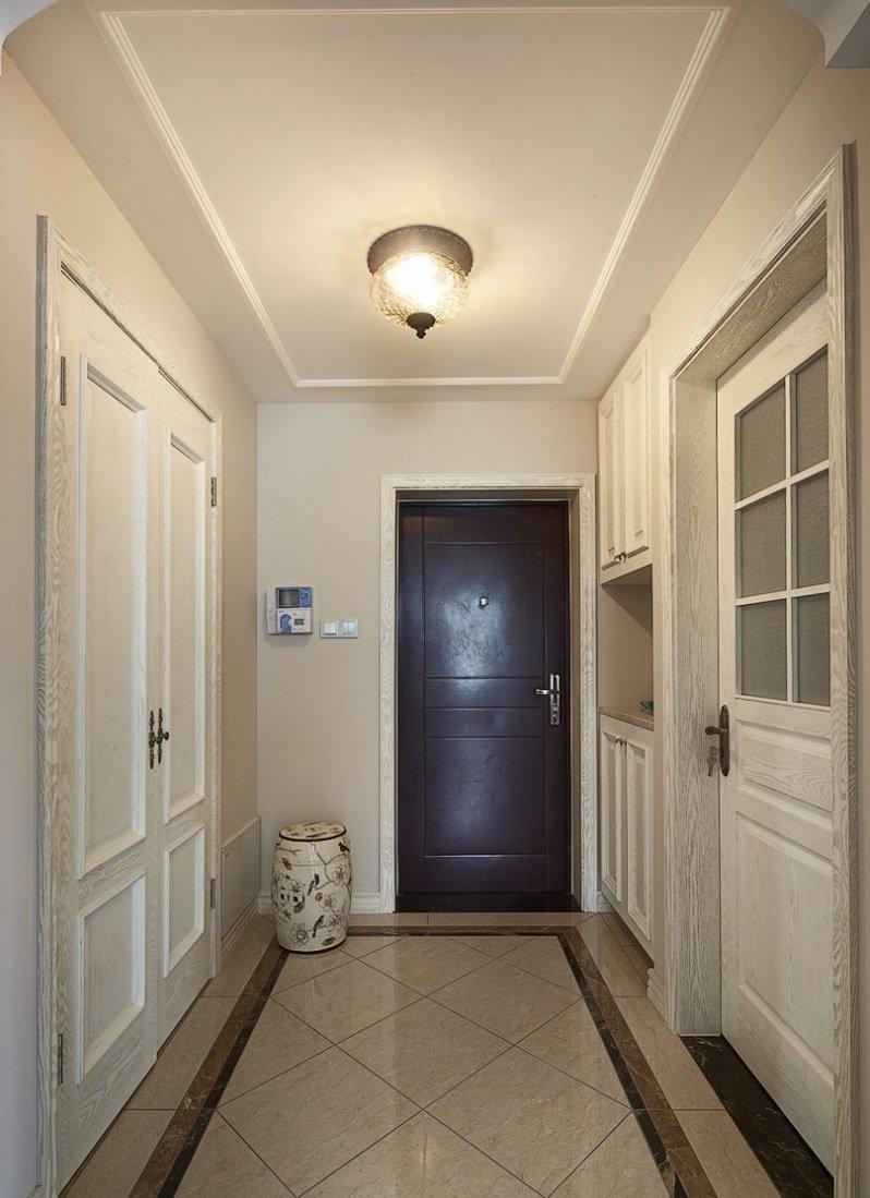 簡約白門窗效果圖 美式家用鋁合金門窗圖片