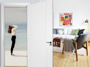 亿合门窗图片 简约室内门卧室木门效果图
