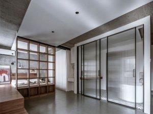 小公寓时尚推拉门效果图 卫生间隔断门图片大全