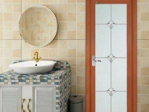 圣堡罗门窗图片 欧式浴室玻璃门效果图