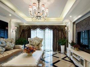 简约普通室内欧式装修效果图 白色铝合金门窗图片