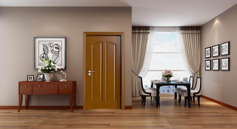 幸福家·欧派门加盟产品 现代风多彩卧室门图片效果图