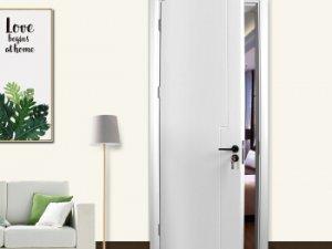 亿合门窗图片 卧室平开门效果图