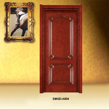 群升木门效果图 意美家实木门系列欧式木门图片
