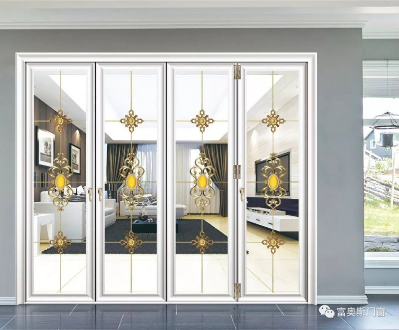 富奧斯門窗圖片 奧妙大折疊門效果圖