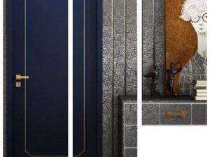 三峰木门图片 三峰家居新款免漆门产品及装修效果图