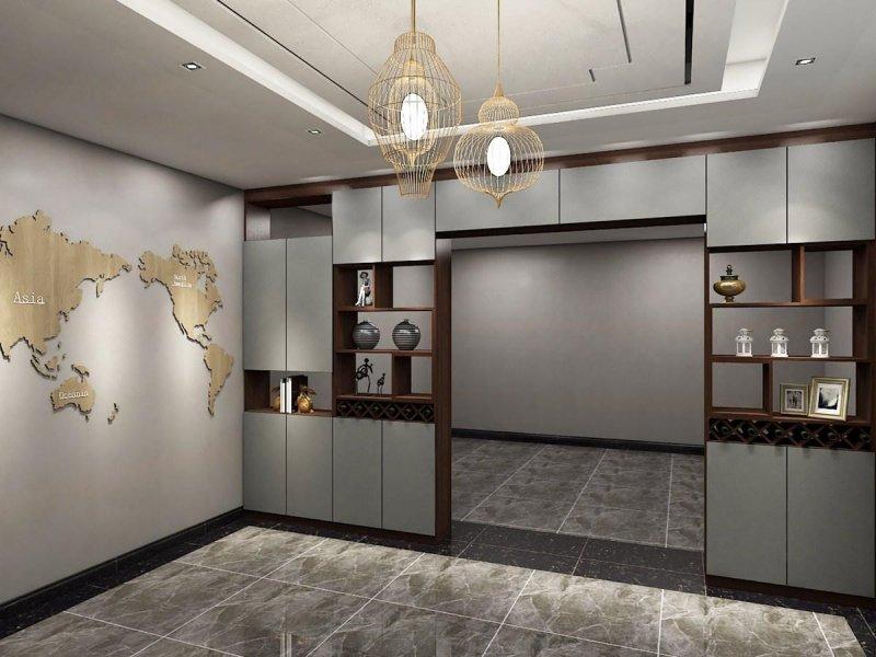 德派克門窗輕奢風鋁合金裝飾柜
