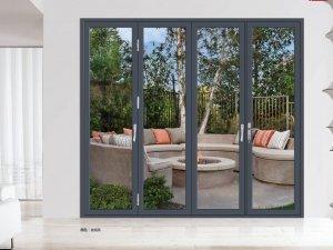 金雅轩门窗图片 重型折叠门效果图