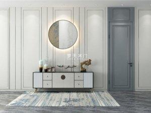 梦天木门图片 水漆木作系列产品及装修效果图