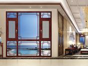 介仁藝術門窗136系統窗-JRS-108