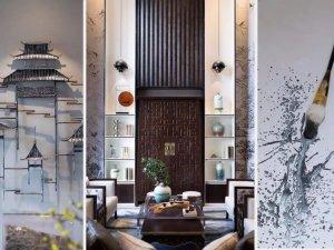 Goldea金迪木门图片 中国风家居装修效果图